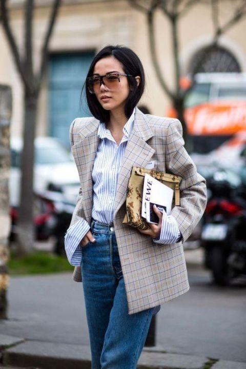 Oversized Blazer trend